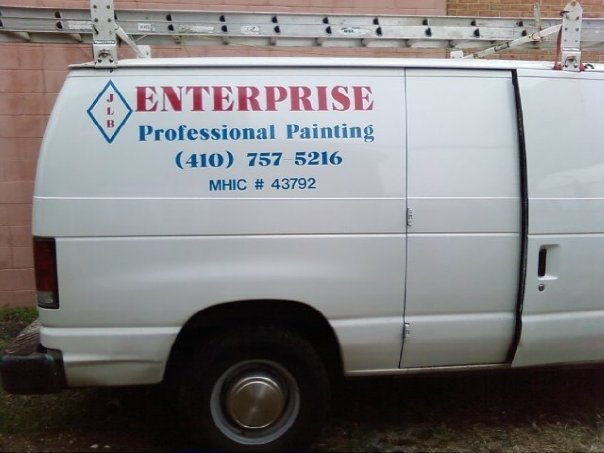 JLB Enterprise painter van