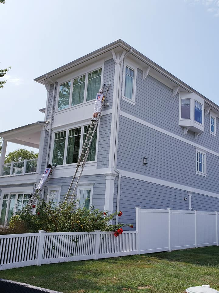 Exterior painting in Edgewater, MD